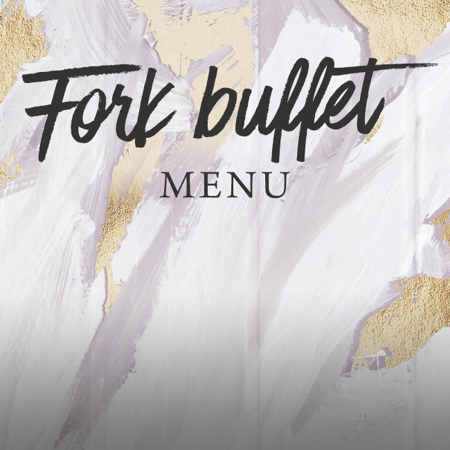 Fork buffet menu at The White Swan