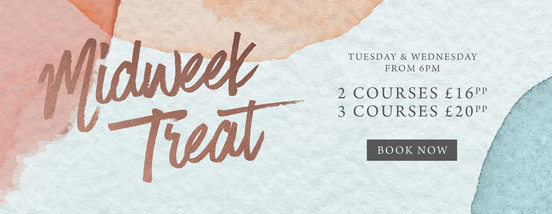 Midweek treat at The White Swan - Book now